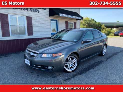 *2008 Acura TL- V6* 1 Owner, Clean Carfax, Navigation, Sunroof, Books for sale in Dover, DE 19901, MD