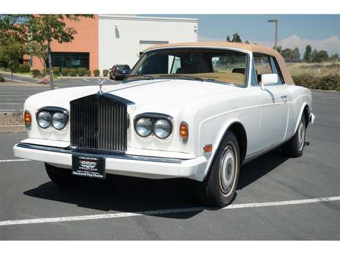 1988 Rolls-Royce Corniche for sale in Fairfield, CA