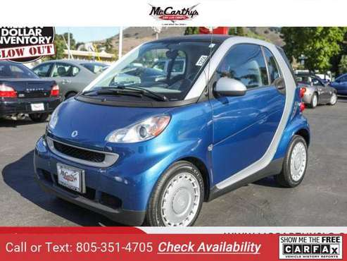 2009 smart fortwo Pure coupe for sale in San Luis Obispo, CA