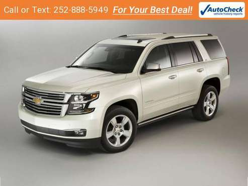 2016 Chevy Chevrolet Tahoe LT suv Summit White for sale in Tarboro, NC