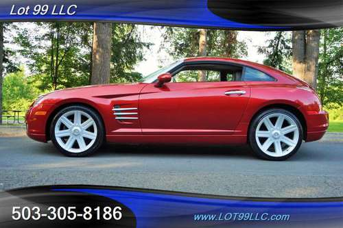 2004 Chrysler Crossfire 1-Owner 96k Miles 6 Speed Manual Heated Leathe for sale in Milwaukie, OR