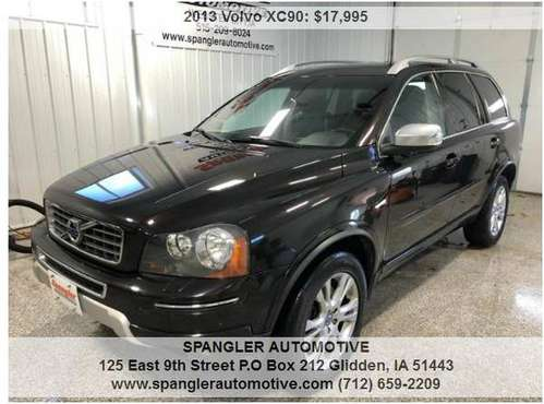 2013 VOLVO XC90*AWD*HEATED LEATHER*MOONROOF*MUST SEE SUV!! for sale in Glidden, IA