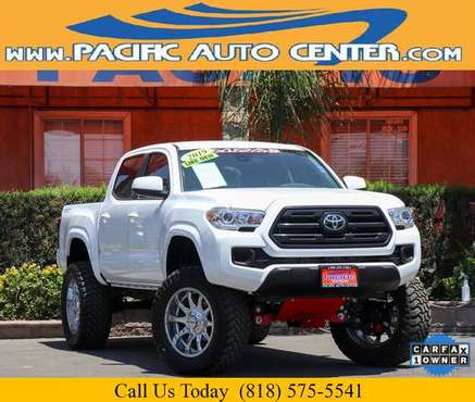 2019 Toyota Tacoma SR V6 4D 4X4 *MOAB LIFT* Short Bed (26345) for sale in Fontana, CA
