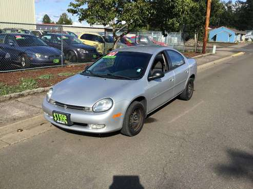 🦊 2000 PLYMOUTH NEON 🦊 LOW or $0 DOWN PAYMENT (OAC) for sale in Independence, OR