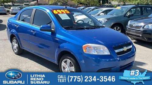 2010 Chevrolet Aveo Sedan Chevy 4dr Sdn LT w/1LT Aveo for sale in Reno, NV