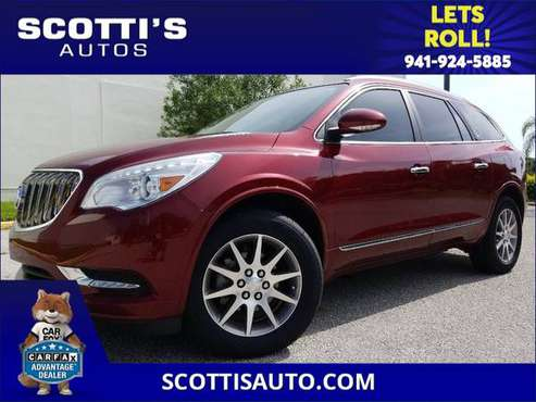 2016 Buick Enclave LEATHER~ 3RD ROW SEAT~ 1-OWNER~ CLEAN CARFAX~... for sale in Sarasota, FL