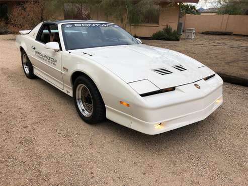 1989 Pontiac Firebird Trans Am Turbo Indy Pace Car Edition for sale in Scottsdale, AZ