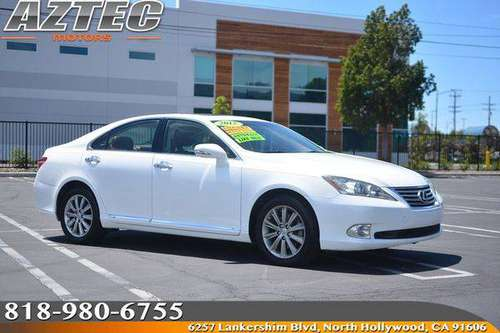 2012 Lexus ES 350 Financing Available For All Credit! for sale in Los Angeles, CA