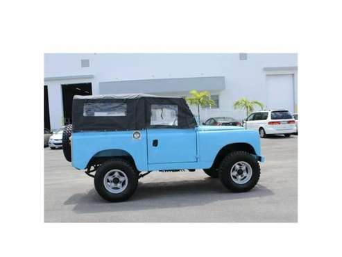 1966 Land Rover Series IIA for sale in Cadillac, MI