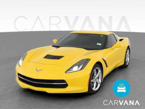 2014 Chevy Chevrolet Corvette Stingray Coupe 2D coupe Yellow -... for sale in Valhalla, NY