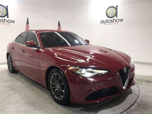 2017 Alfa Romeo Giulia Base Low Down Payment Drive Today for sale in Fort Lauderdale, FL
