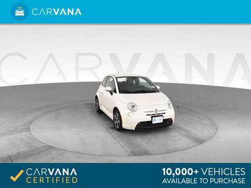 2014 FIAT 500e Hatchback 2D hatchback WHITE - FINANCE ONLINE for sale in Las Vegas, NV