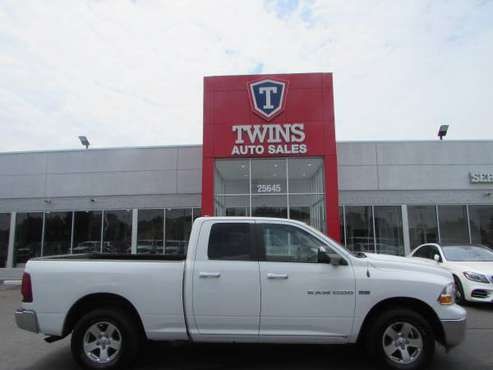 2011 RAM SLT 1500 QUAD**SUPER CLEAN**LOW MILES**FINANCING AVAILABLE** for sale in redford, MI