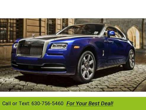 2014 Rolls-Royce Wraith with coupe English White for sale in Downers Grove, IL
