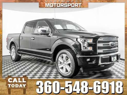 2017 *Ford F-150* Platinum 4x4 for sale in Marysville, WA