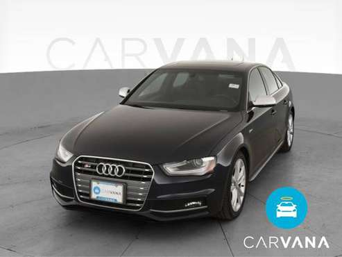2014 Audi S4 Premium Plus Sedan 4D sedan Blue - FINANCE ONLINE -... for sale in Harrison Township, MI