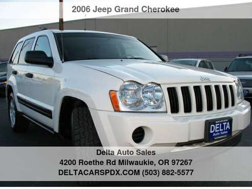 2006 Jeep Grand Cherokee Laredo 4WD 1 Owner Service Record via... for sale in Milwaukie, OR