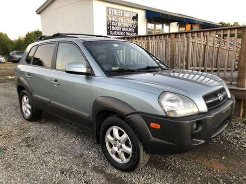 2005 Hyundai Tucson - 6 month/6000 MILE WARRANTY// 3 DAY RETURN... for sale in Fredericksburg, District Of Columbia