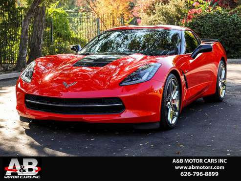 2014 Chevrolet Corvette Stingray Z51 3LT 7 SPD MANUAL! FULLY LOADED!... for sale in Pasadena, CA