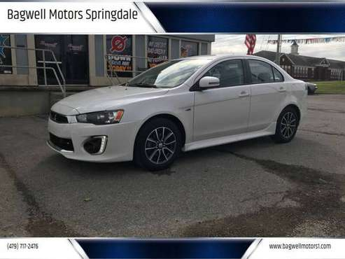 2017 MITSUBISHI LANCER=PERFECT CONDITIONS*BLUETOOTH*GUARANTEED FINANCE for sale in Springdale, AR