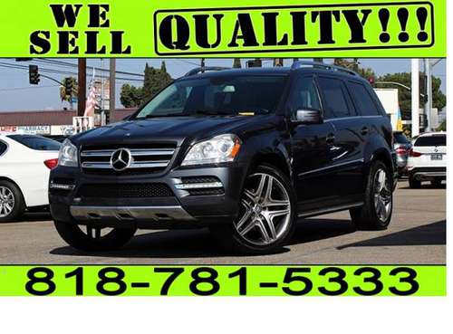 2012 MERCEDES BENZ GL450 **$0 - $500 DOWN. *BAD CREDIT NO LICENSE* for sale in North Hollywood, CA