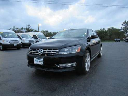 2014 Volkswagen Passat TDI SEL Premium with Back-Up Camera for sale in Grayslake, IL
