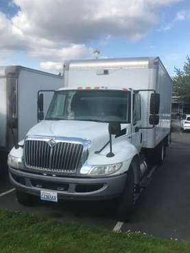 PRICE DROP! International Box Truck for sale in Seattle, WA