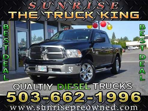 2014 Ram 1500 4x4 4WD Dodge Big Horn Truck for sale in Milwaukie, OR