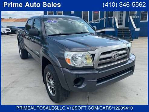 2010 Toyota Tacoma Double Cab Long Bed V6 Auto 4WD for sale in Baltimore, MD