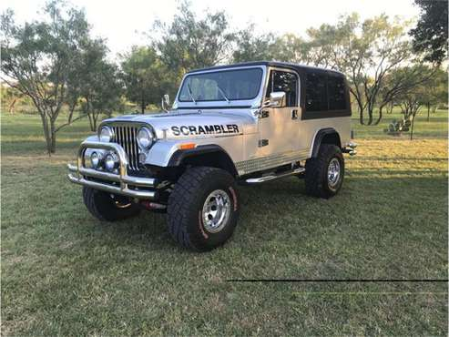 1981 Jeep CJ8 Scrambler for sale in Fredericksburg, TX
