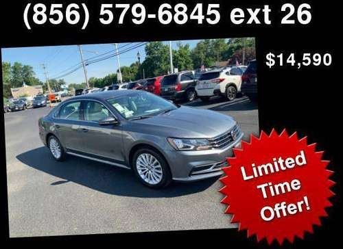 2017 Volkswagen VW Passat 1.8T SE - cars & trucks - by dealer -... for sale in Turnersville, NJ