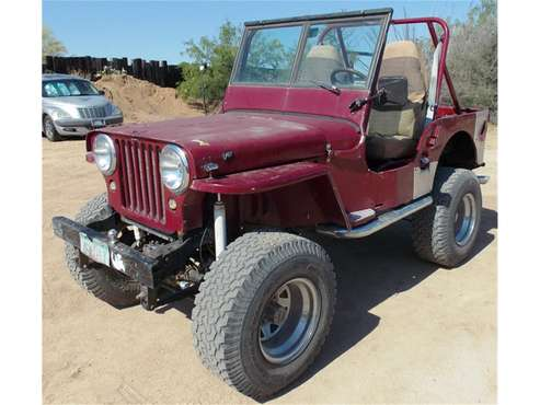 1946 Willys CJ2 for sale in Tucson, AZ