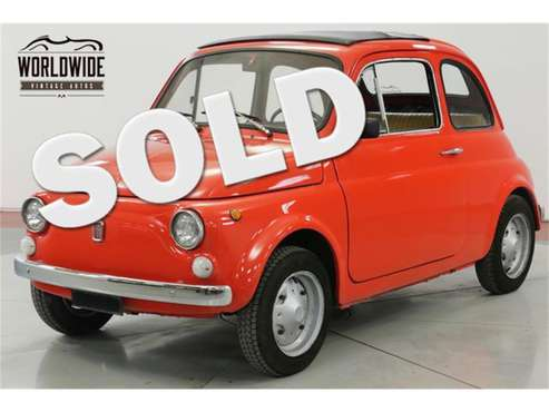 1969 Fiat 500L for sale in Denver , CO