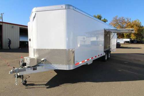 NEW 2019 Featherlite 4926 26' Enclosed Car Trailer - Insulated - Cabin for sale in Albany, OR