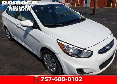 2017 Hyundai Accent FWD 4D Sedan / Sedan SE for sale in Hampton, VA