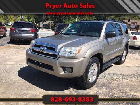 2006 Toyota 4Runner Sport Edition 4WD for sale in Hendersonville, NC