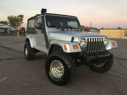 2005 Jeep Wrangler Unlimited 4x4 for sale in Mesa, AZ