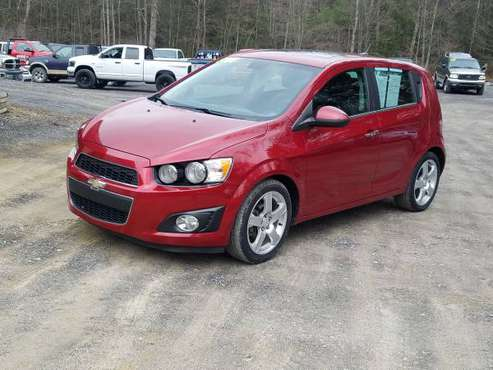 12 CHEVY SONIC LTZ for sale in MIFFLINBURG, PA
