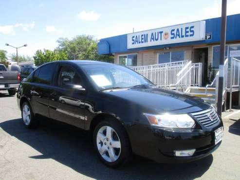 2007 Saturn ION - NEW TIRES - GOOD ON GAS - AC WORKS - ON STAR - for sale in Sacramento , CA