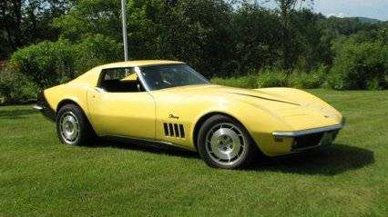 1969 C3 CORVETTE STRING RAY T-TOP CLASSIC for sale in Williamstown, VT