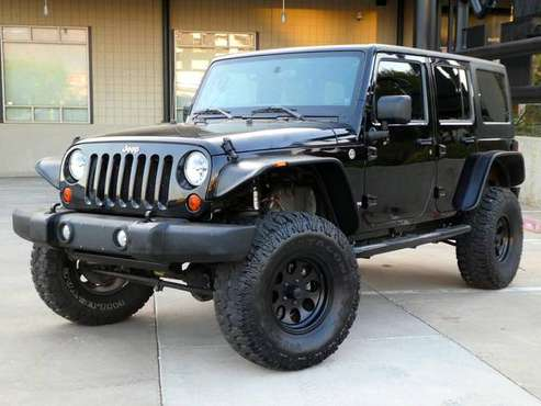 2011 Jeep Wrangler Rubicon Rock Crawler - cars & trucks - by dealer... for sale in Albuquerque, NM