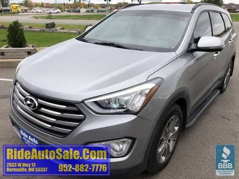 2013 Hyundai Santa FE 7 passenger AWD 3.3 V6 leather FINANCING OPTIONS for sale in Burnsville, MN