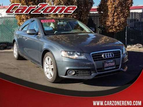 2010 Audi A4 4dr Sdn Auto quattro 2.0T Premium - cars & trucks - by... for sale in Reno, CA