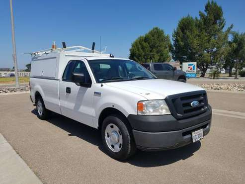 2008 Ford F150 Work truck 8' bed 2 ladder racks Clean for sale in Santee, CA