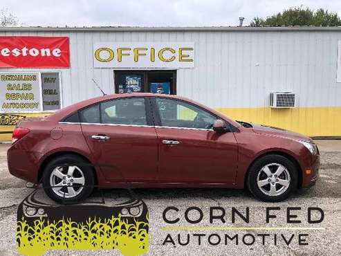 2012 CHEVROLET CRUZE LT+LOW MILES+SERVICED+FINANCING+WARRANTY for sale in CENTER POINT, IA