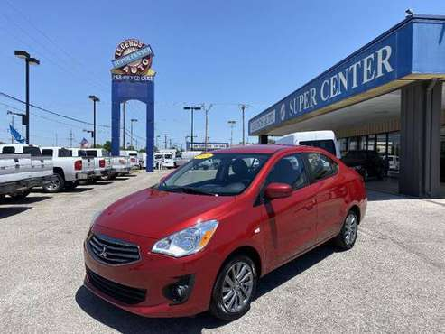 2018 Mitsubishi Mirage G4 ES CVT - cars & trucks - by dealer -... for sale in Bethany, OK