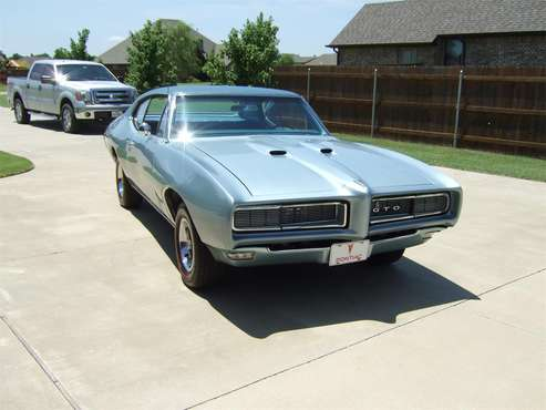 1968 Pontiac GTO for sale in Mustang, OK