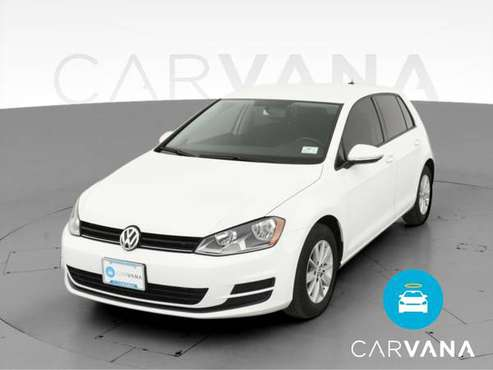 2017 VW Volkswagen Golf TSI S Hatchback Sedan 4D sedan White -... for sale in West Palm Beach, FL