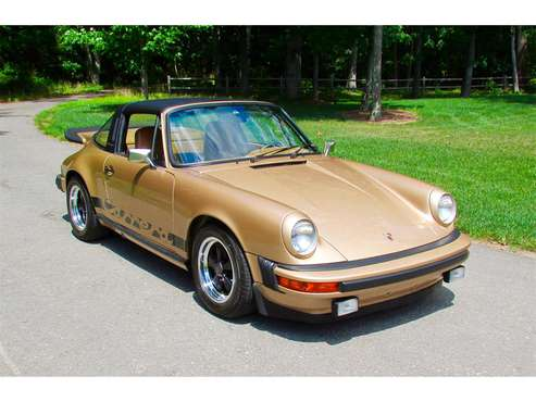 1975 Porsche 911 Carrera 3.2 targa for sale in Framingham, MA