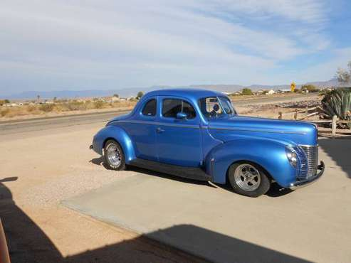 1940 Ford Deluxe Coupe - cars & trucks - by owner - vehicle... for sale in Hackberry, AZ